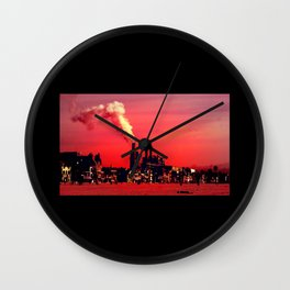 Power Plant Wall Clock