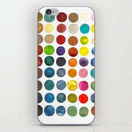 create peace with each step.  iPhone Skin