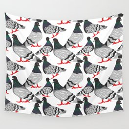Pigeon Power Wall Tapestry