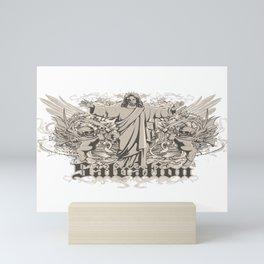Salvation Evil Jesus Mini Art Print