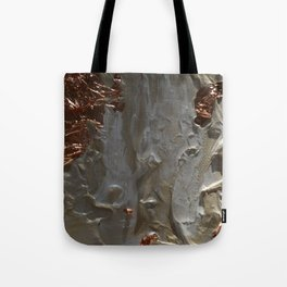 Copper and Pearls Tote Bag