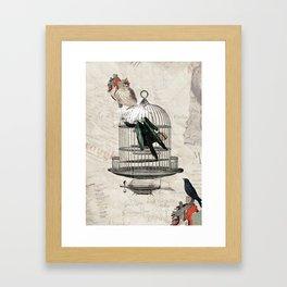 The City Framed Art Print