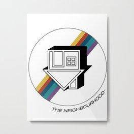 no grey Metal Print