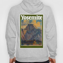 Vintage Yosemite National Park Hoody
