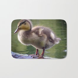 Duckling in Chocolate Caramel Bath Mat