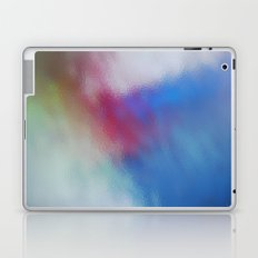Abstract Square - Blue-Red Laptop & iPad Skin