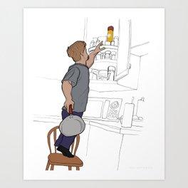 Reach! Art Print