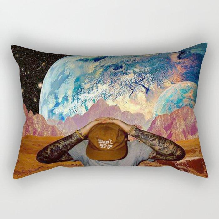 Don't Trip Rectangular Pillow