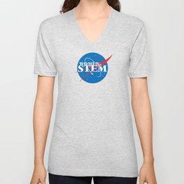 Women in STEM Unisex V-Neck
