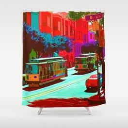 San Francisco 005 Shower Curtain