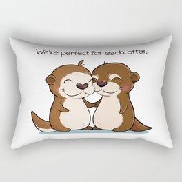 Perfect for each Otter Rectangular Pillow