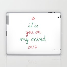 You on My Mind 24/7 Laptop & iPad Skin