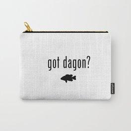 Lovecraft Print Necronomicon Dagon Innsmouth Carry-All Pouch