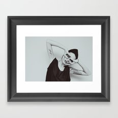 R h i Framed Art Print