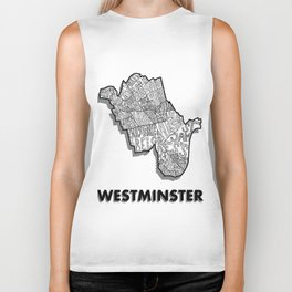 Westminster - London Borough - Detailed Biker Tank