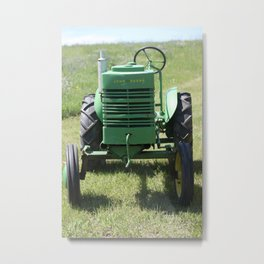 Crank Shaft Antique Tractor Metal Print