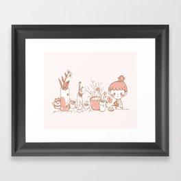 Little Garden Framed Art Print