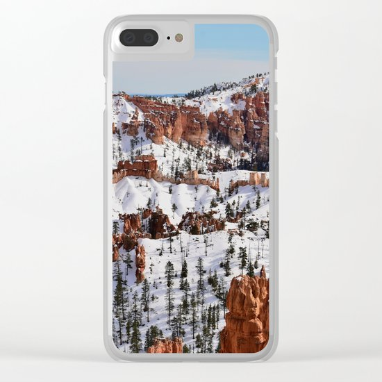 Bryce Canyon - Sunset Point Clear iPhone Case