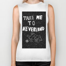 Take me to Neverland Biker Tank