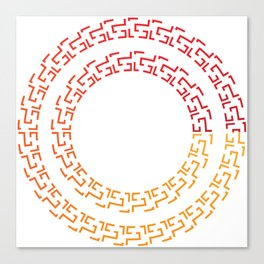 Runa in sunny colors Canvas Print