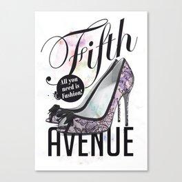 Fifth Avenue Canvas Print