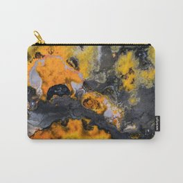 Earth treasures - patters of yellow and orange jaspis Carry-All Pouch