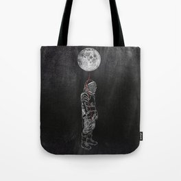 Moon Balloon 02 Tote Bag