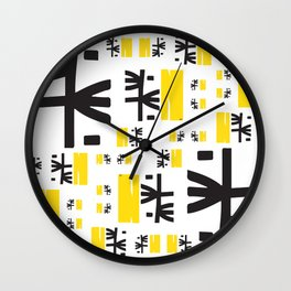 Recuerdos de Abril - April Memories Wall Clock