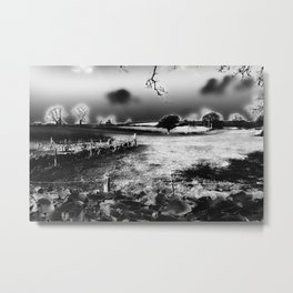 Escape By Moonlight Metal Print