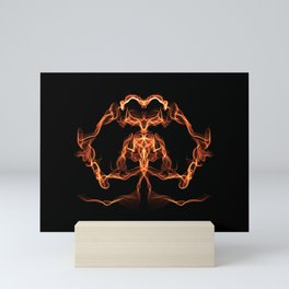 Goddess of the Flame - Abstract Art Mini Art Print