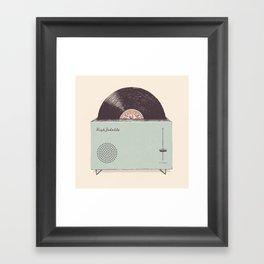 High Fidelity Toaster Framed Art Print