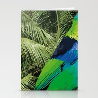 brasil Stationery Cards featuring Brasil Tropical by watermelon