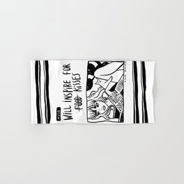 Will Inspire For Kisses Hand & Bath Towel