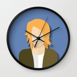 k.Cobain Wall Clock