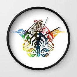 Bassnectar Family Crest (Color) Wall Clock