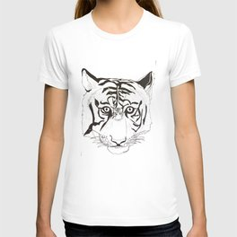 Triptych Tiger T-shirt