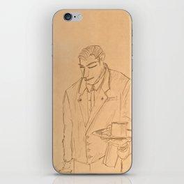 The Waiter iPhone Skin