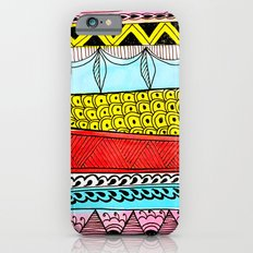 Illustrated Stripes in Modern Patterns Slim Case iPhone 6s