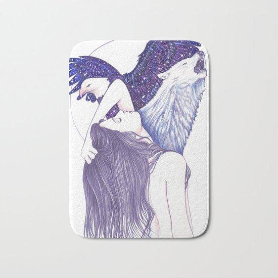 Wings Of An Eagle Bath Mat