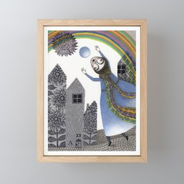 Rainbow Mine (2) Framed Mini Art Print