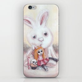 Ester and Bunny iPhone Skin