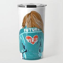 Future Blonde Bride Travel Mug