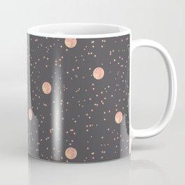Rosè Moon Pattern Coffee Mug