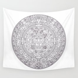 Sun Stone Wall Tapestry