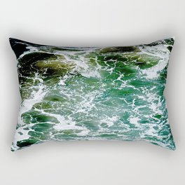 Impact Zone Abstract Rectangular Pillow
