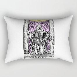 Modern Tarot Design - 11 Justice Rectangular Pillow
