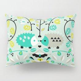 Hedgehog Lovers Pillow Sham