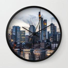 Frankfurt 2 Wall Clock
