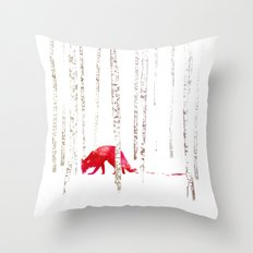 There's nowhere to run Throw Pillow