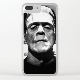 Frankenstien | Franky | Horror movies | Munsters | Gothic Aesthetics Clear iPhone Case